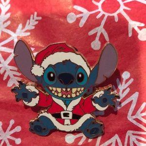 Disney Stitch Christmas pin